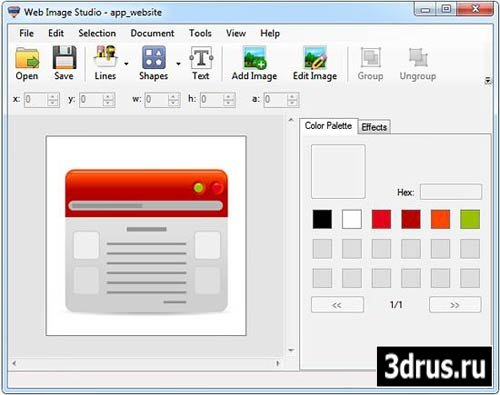 Web Image Studio v1.0 Build 3348