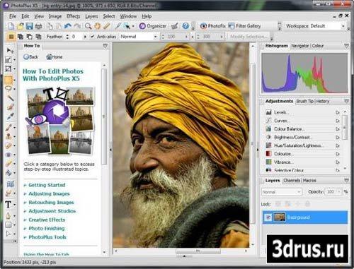 Serif PhotoPlus X5 15.0.1.11