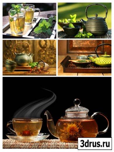Сток фото чаепитие