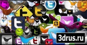 53 иконки для Твиттера