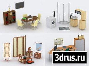 Библиотеки 3D объектов для ArCon