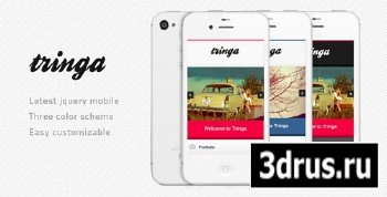 ThemeForest - Tringa - Mobile Template - Rip