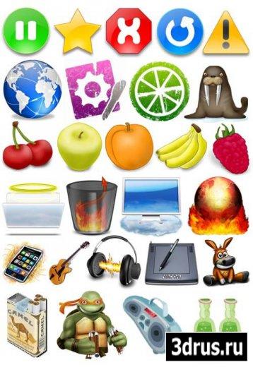 Подборка интересных иконок для творчества о области дизайна