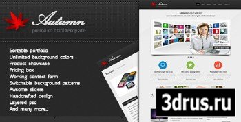 ThemeForest - Autum - Multipurpose HTML Template - RiP