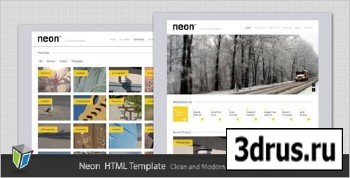 ThemeForest - Neon - Clean and Modern HTML Template - RiP