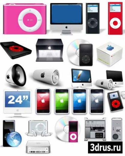 Оригинальный набор иконок - Apple Icon Pack