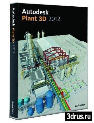 Autodesk AutoCAD Plant 3D 2012 с пакетом обновления 1 (2012/ENG/ISZ) | Autodesk AutoCAD Plant 3D 201