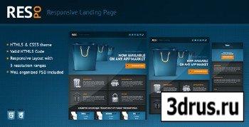 ThemeForest - Respo - Responsive Landing Page - RiP