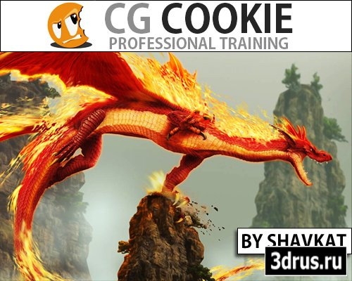 CG cookie - Creating a Fire Dragon with FumeFX in 3Ds max [2012, ENG]