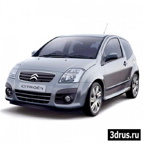 3D Модель. Авто ( Citroen-C2 )