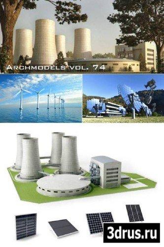 Archmodels Vol.74 - Industry & Ecology Models