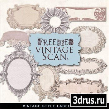 Scrap-kit - Vintage Labels #2
