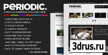 ThemeForest - Periodic 2.4.1 - A Premium WordPress Magazine Theme