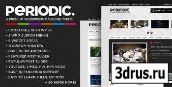 ThemeForest - Periodic 2.4.1 - A Premium WordPress Magazine Theme