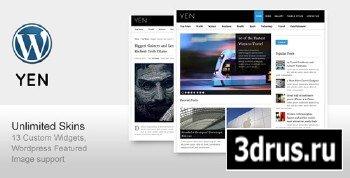ThemeForest - YEN - Magazine, News and Blog Wordpress Template (Reuploaded)