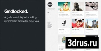 ThemeForest - Gridlocked: Minimalistic WordPress Portfolio Theme (Reuploaded)