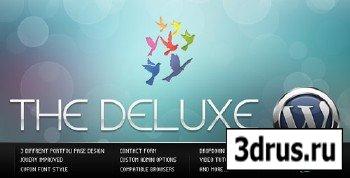 ThemeForest - The Deluxe v1.1 - Business WordPress Theme (Reuploaded)