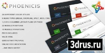 ThemeForest - Phoenicis - Premium Joomla Template (Reuploaded)