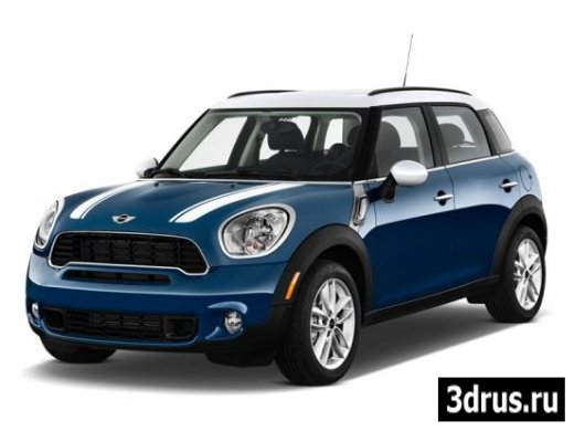 3D model. Car (Mini Cooper Countryman.)