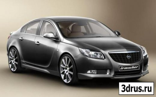3D model. Cars (Opel-Insignia)