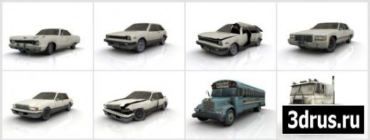 3D Model of Transport of the game «Left 4 Dead»