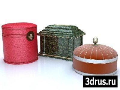 3D модели шкатулок