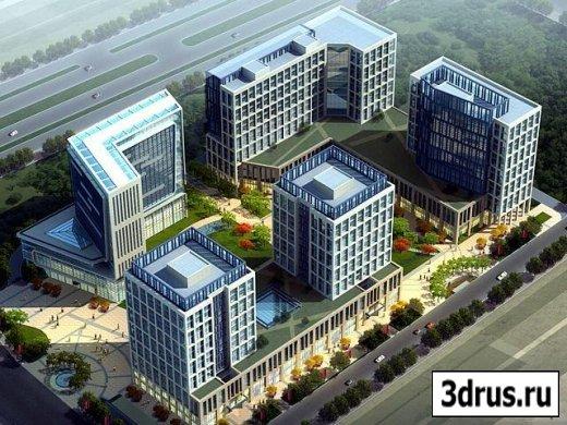 3D Модель района