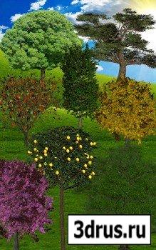 О. В. Гулидова.  Деревья из бисера.