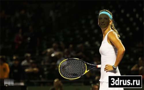 Шаблон для фотошоп - Теннисистка!