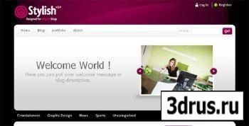 ThemeForest - stylish theme v2.0 - 4 in 1 - Wordpress Theme
