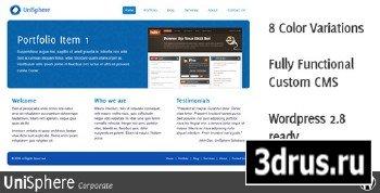 ThemeForest - UniSphere Corporate - WordPress Theme