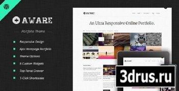 ThemeForest - Aware - Responsive WordPress Portfolio Theme