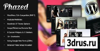ThemeForest - Phazed - ThemeForest Creative Portfolio WordPress Theme