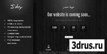 ThemeForest - Jday - Coming Soon page - RIP