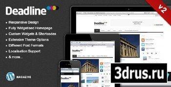 ThemeForest - Deadline - Premium WordPress News/Magazine Theme