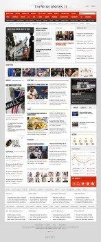 Gavick - The World News II v2.11 For Joomla 2.5 Template - Retail