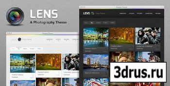ThemeForest - Lens - The Ultimate WordPress Theme for Photography - v1.1