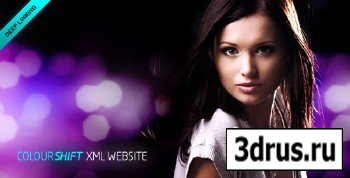 ActiveDen - ColourShift XML Website Template (Reupload)