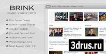 ThemeForest - Brink - Magazine WordPress Theme