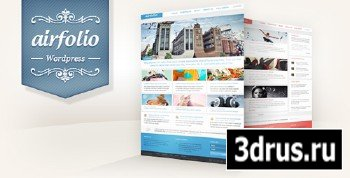 ThemeForest - Airfolio - WordPress Theme