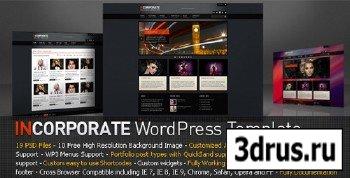 ThemeForest - Incorporate WordPress Template v1.0