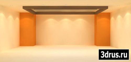 Реалистичное освещение интерьера - урок 3D Studio Max