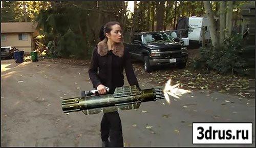 Человек с оружием - видеоурок для 3D Max