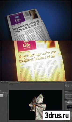 3D Проект под названием - Paper Crumple with Freeform