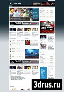 JoomShaper - Shaper Sportive v1.5.1 - Template For Joomla 2.5