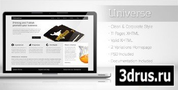 ThemeForest - Universe - Corporate Business Template 2
