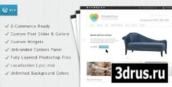 ThemeForest - FreshShop v1.1 - A WordPress E-Commerce Theme
