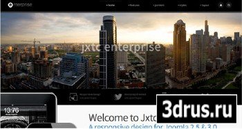 JoomlaXTC - Enterprise - Joomla 2.5 & 3.0 Business Theme