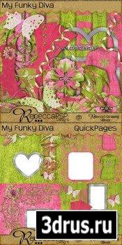 Scrap Set - My Funky Diva