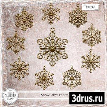Scrap Kit - Snowflakes charms